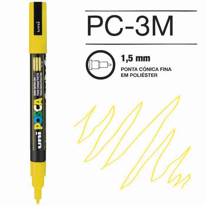 Canetas/Tintas Posca 3M Amarelo