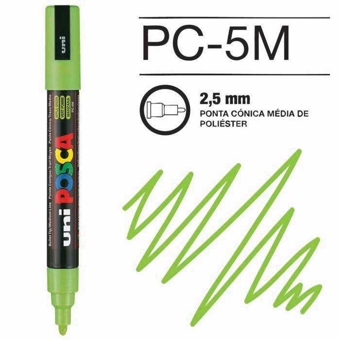 Canetas/Tintas Posca 5M Verde Claro