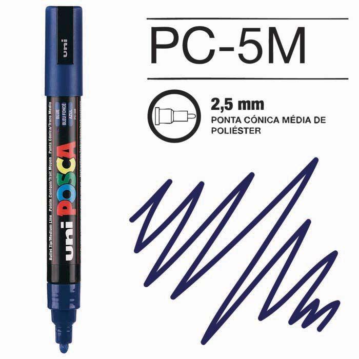 Canetas/Tintas Posca 5M Azul