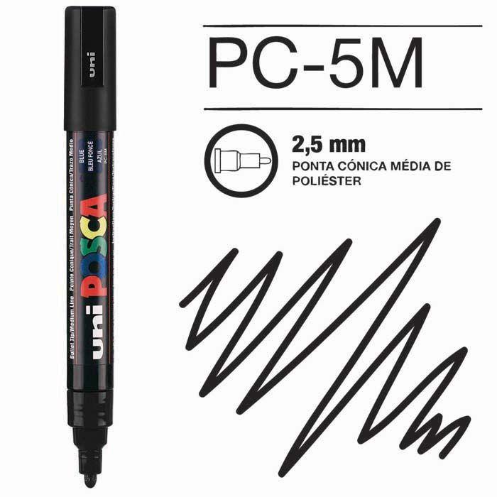 Canetas/Tintas Posca 5M Preto