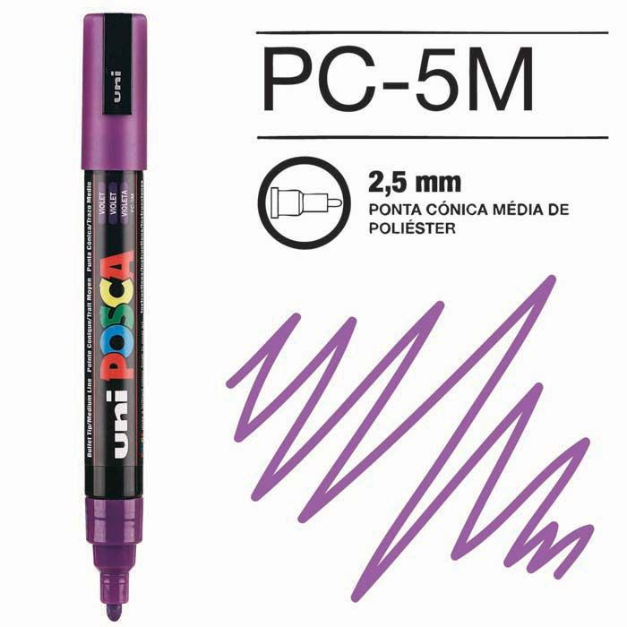 Canetas/Tintas Posca 5M Violeta