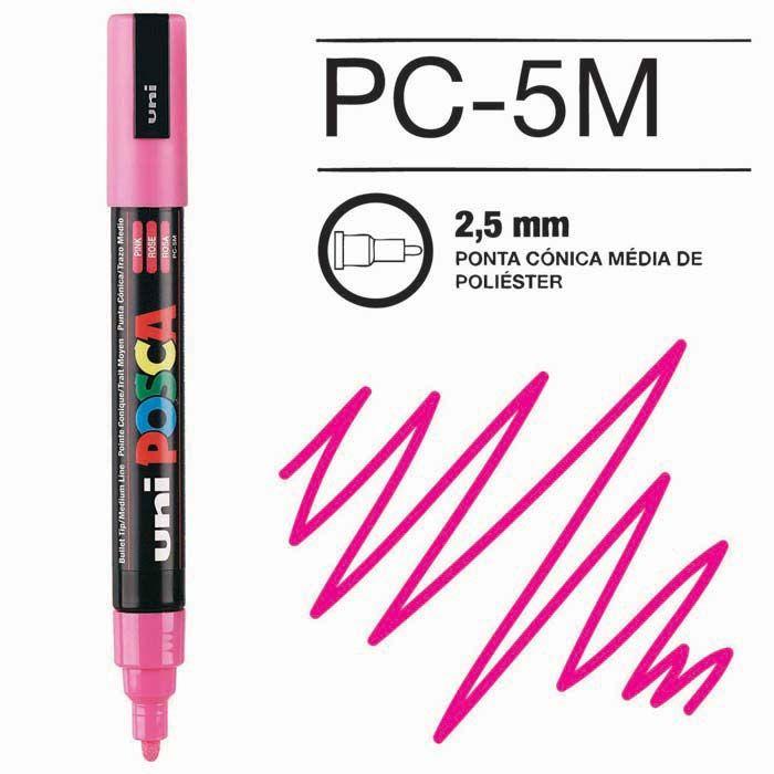 Canetas/Tintas Posca 5M Rosa
