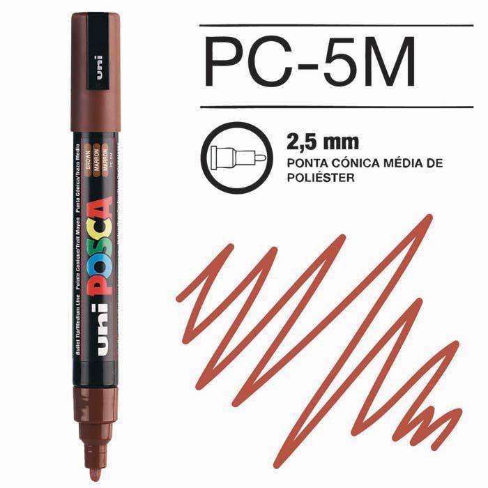 Canetas/Tintas Posca 5M Castanho