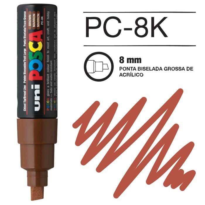 Canetas/Tintas Posca 8K Castanho