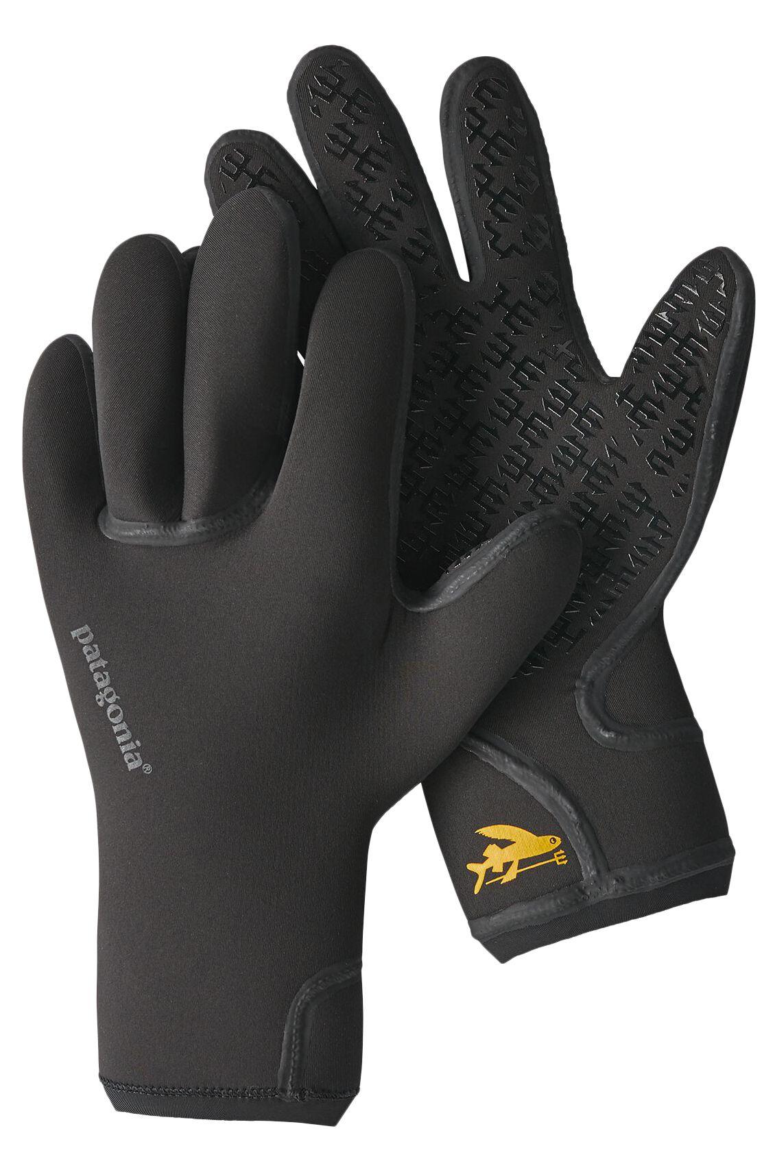 Patagonia Neoprene Gloves R3 YULEX GLOVES Black