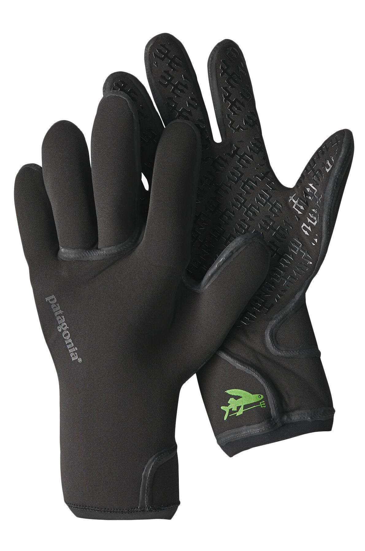 Patagonia Neoprene Gloves R2 YULEX GLOVES Black