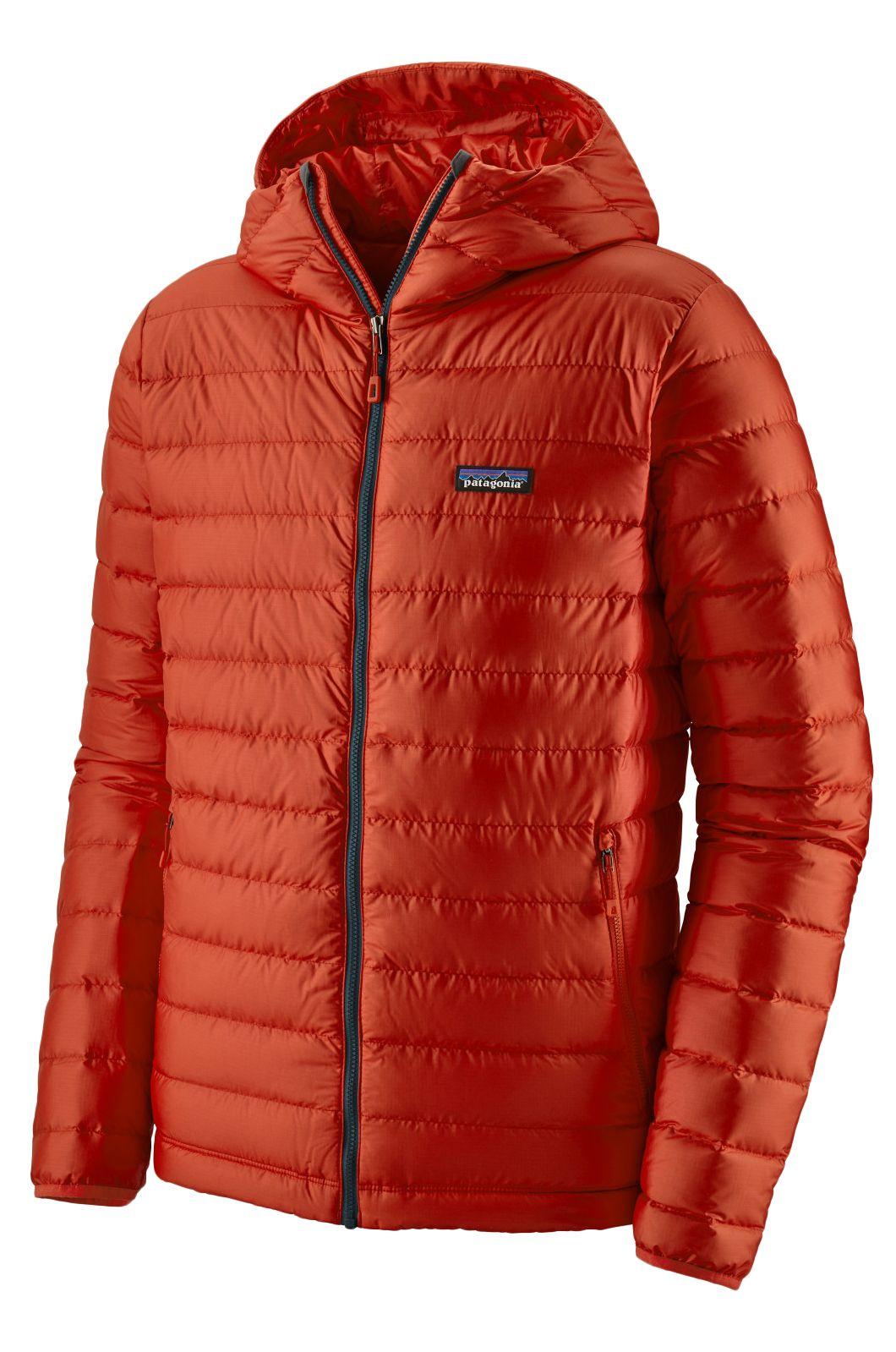 Patagonia Jacket M'S DOWN SWEATER HOODY Hot Ember
