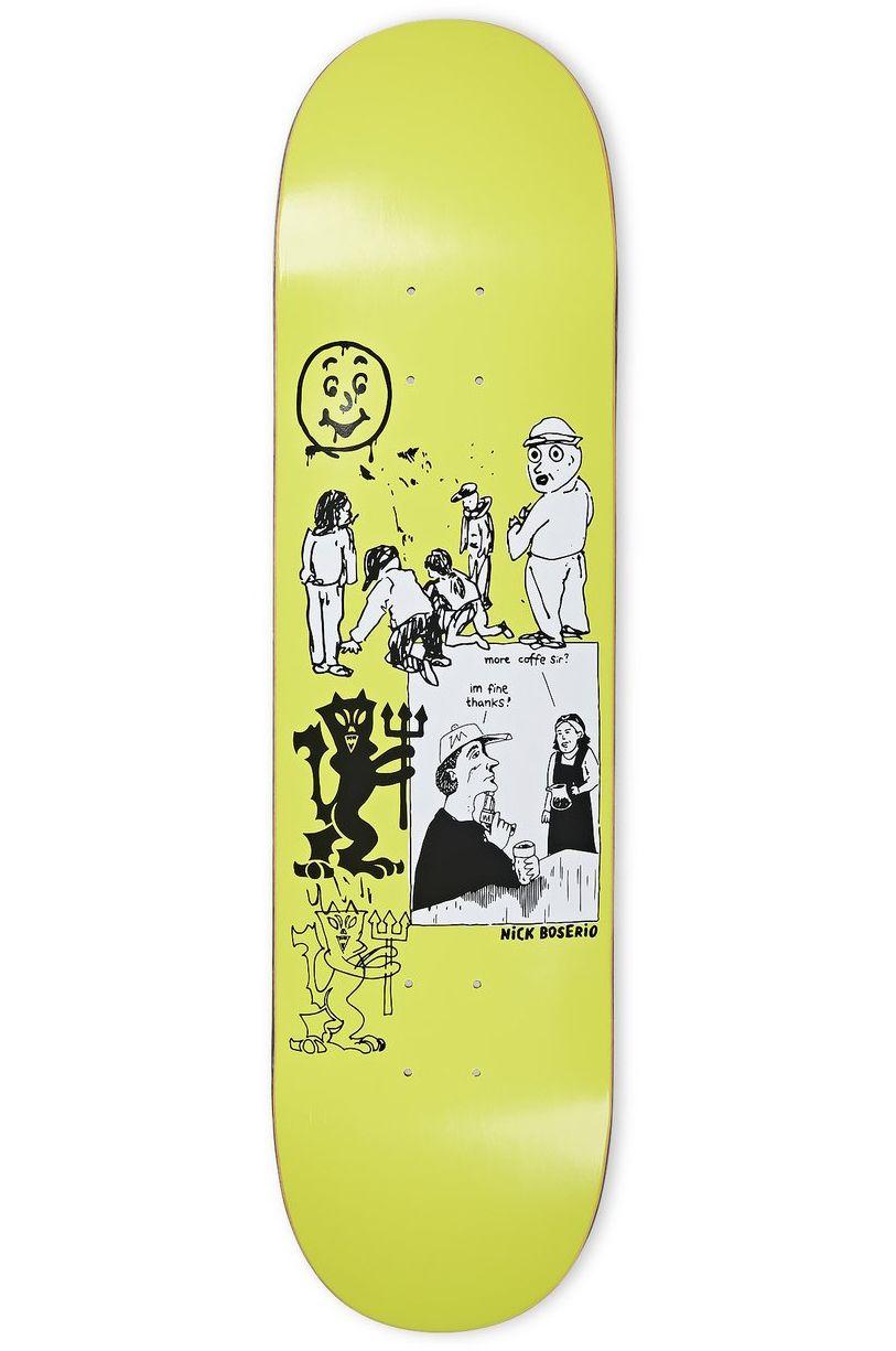 "Polar Skate Co Skate Board 8.25"" NICK BOSSERIO - YEAR 2020 Moss Green"