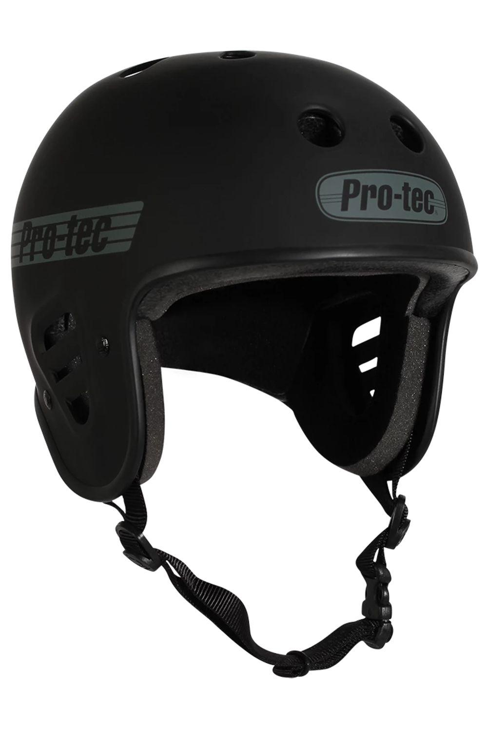 Pro Tec Helmet FULLCUT CERTIFIED Matte Black