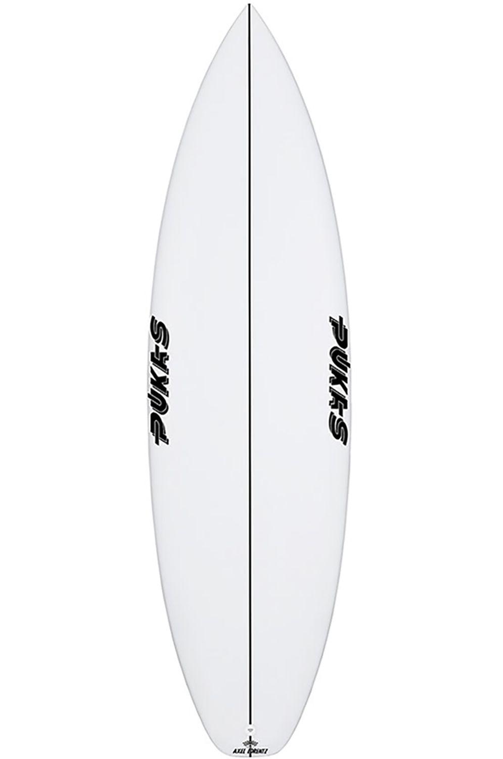 Pukas Surf Board 6'0 TASTY TREAT Squash Tail - White FCS II 6ft0