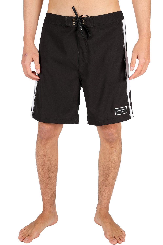 Pukas Boardshorts YIN YANG WAVES Black