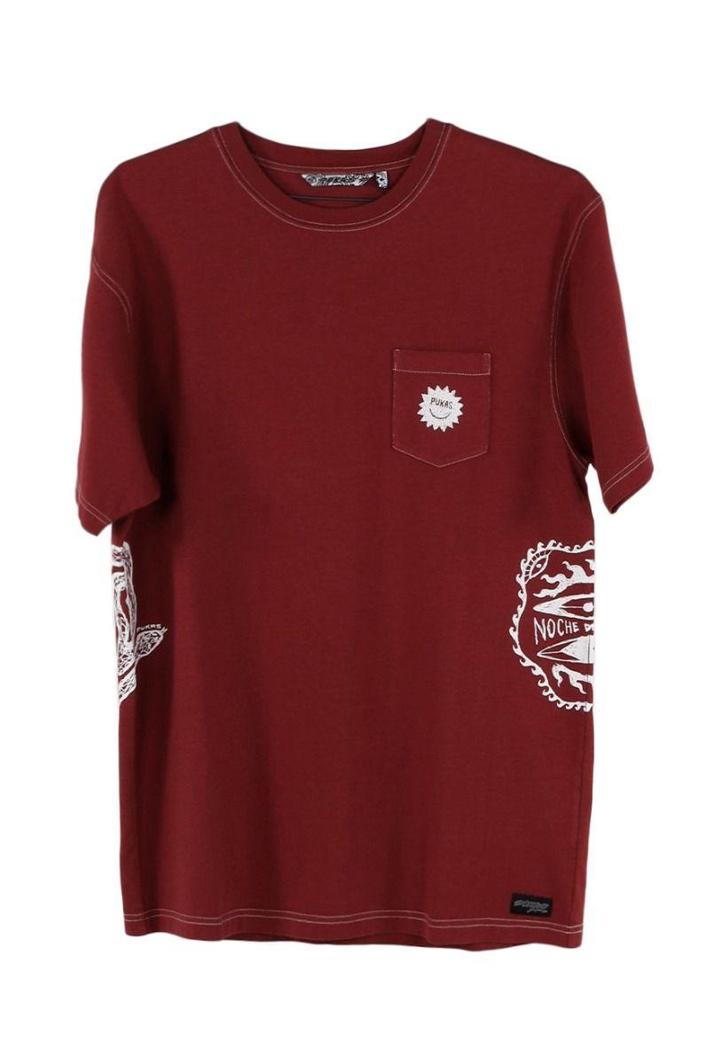 Pukas T-Shirt S/S TEE DARKY LOGOS Hemp