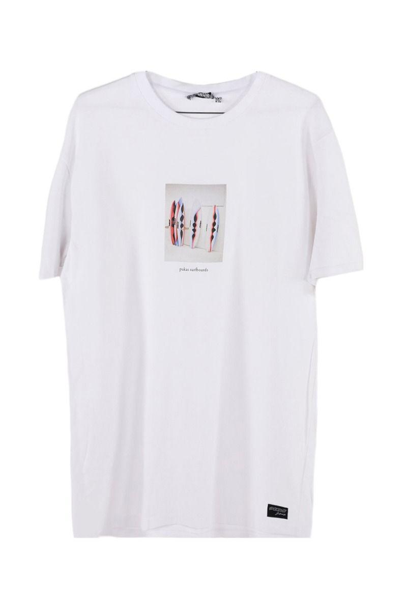Pukas T-Shirt QUIVER White