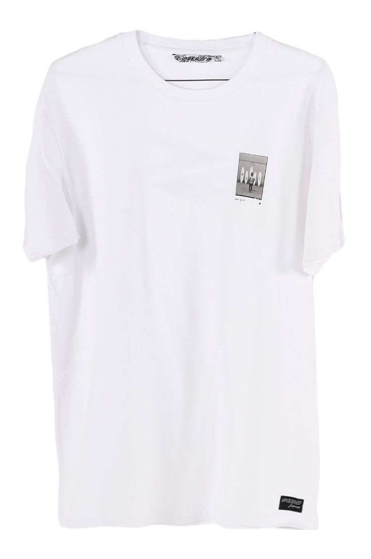 Pukas T-Shirt S/S TEE COLLAB GEO White