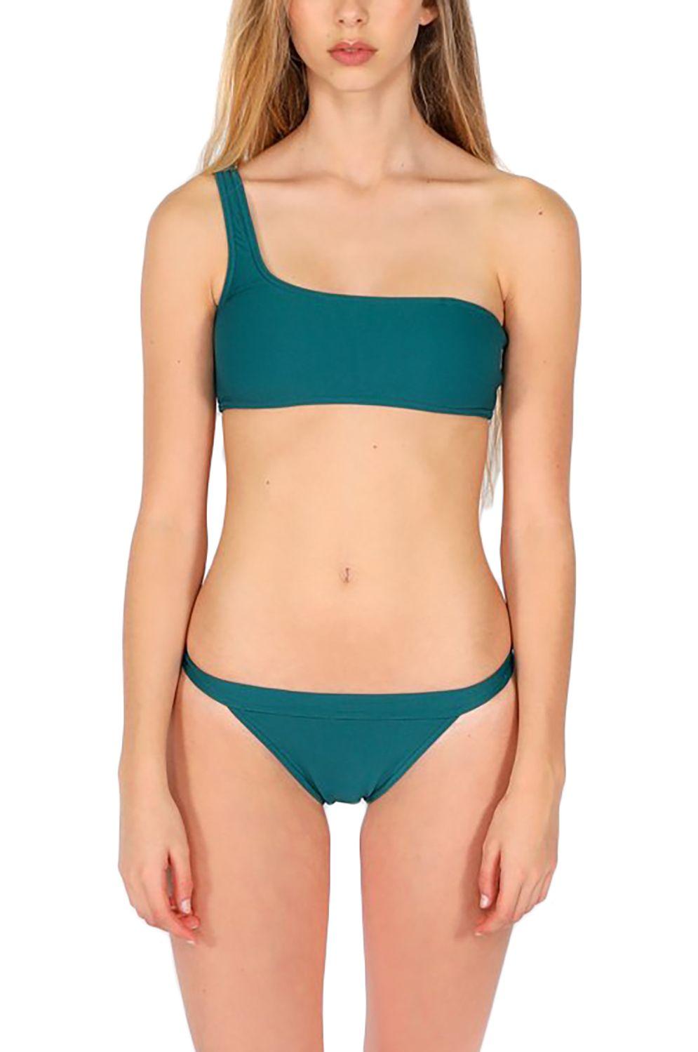 Bikini Top Pukas BAND DOUBLE STRAP Petrol
