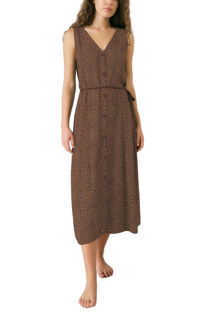 Pukas Dress DRESS DOTS V NECK DRESS Dots