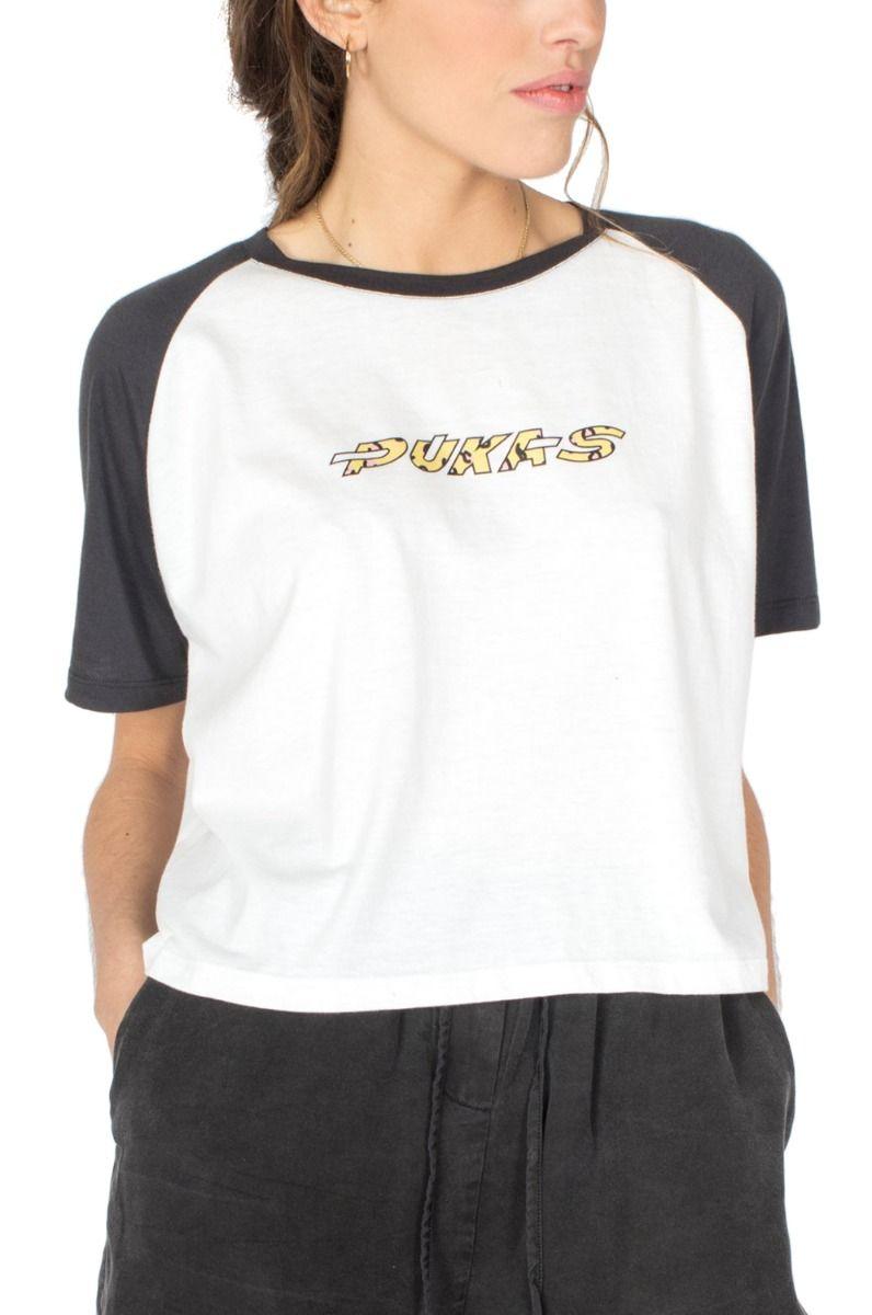 Pukas T-Shirt PUKAS LEOPARD White
