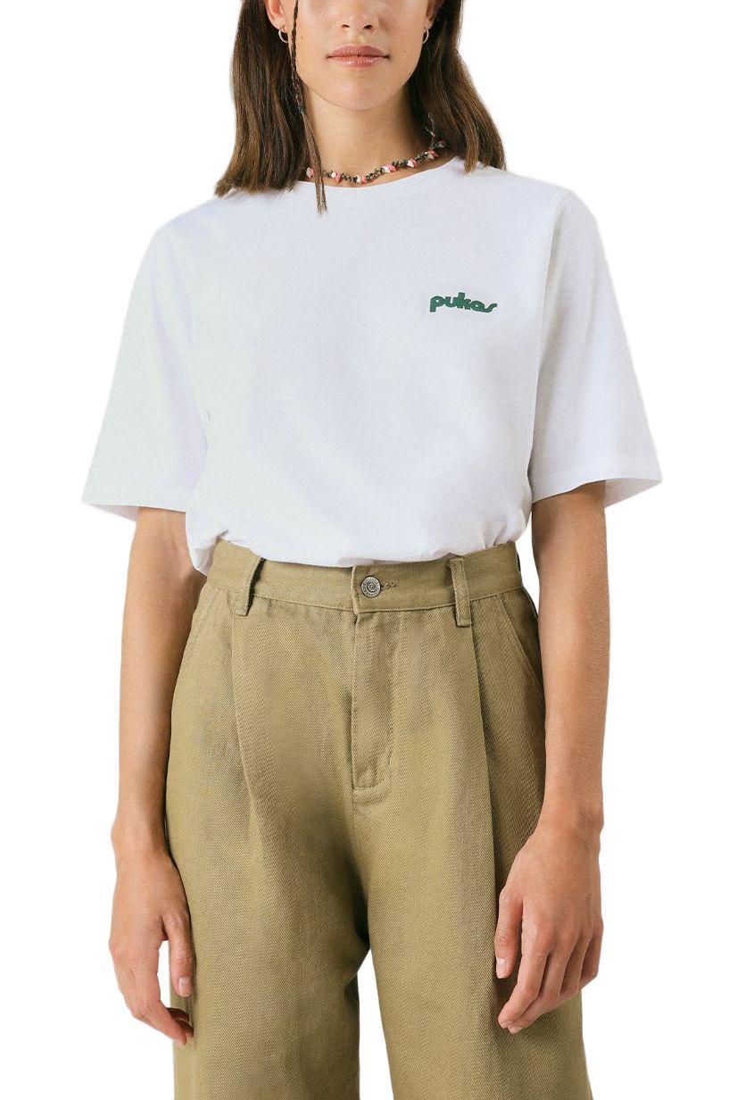 Pukas T-Shirt WMN TEE EIGHTIES White