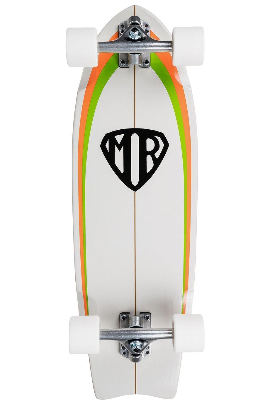 "Quiksilver Surf Skate 9"" X 28"" MR RETRO Multicolor"