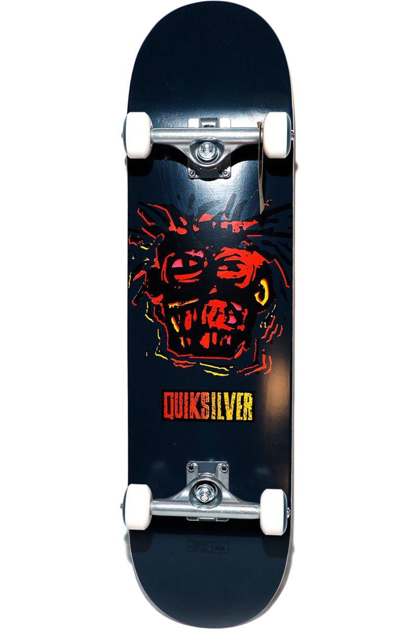 "Quiksilver Skate 8"" X 32"" WARPAINT Navy Blazer"