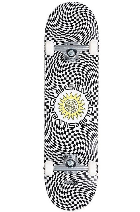 """Quiksilver Skate 8"""" X 32"""" PSYCHED SUN White"""