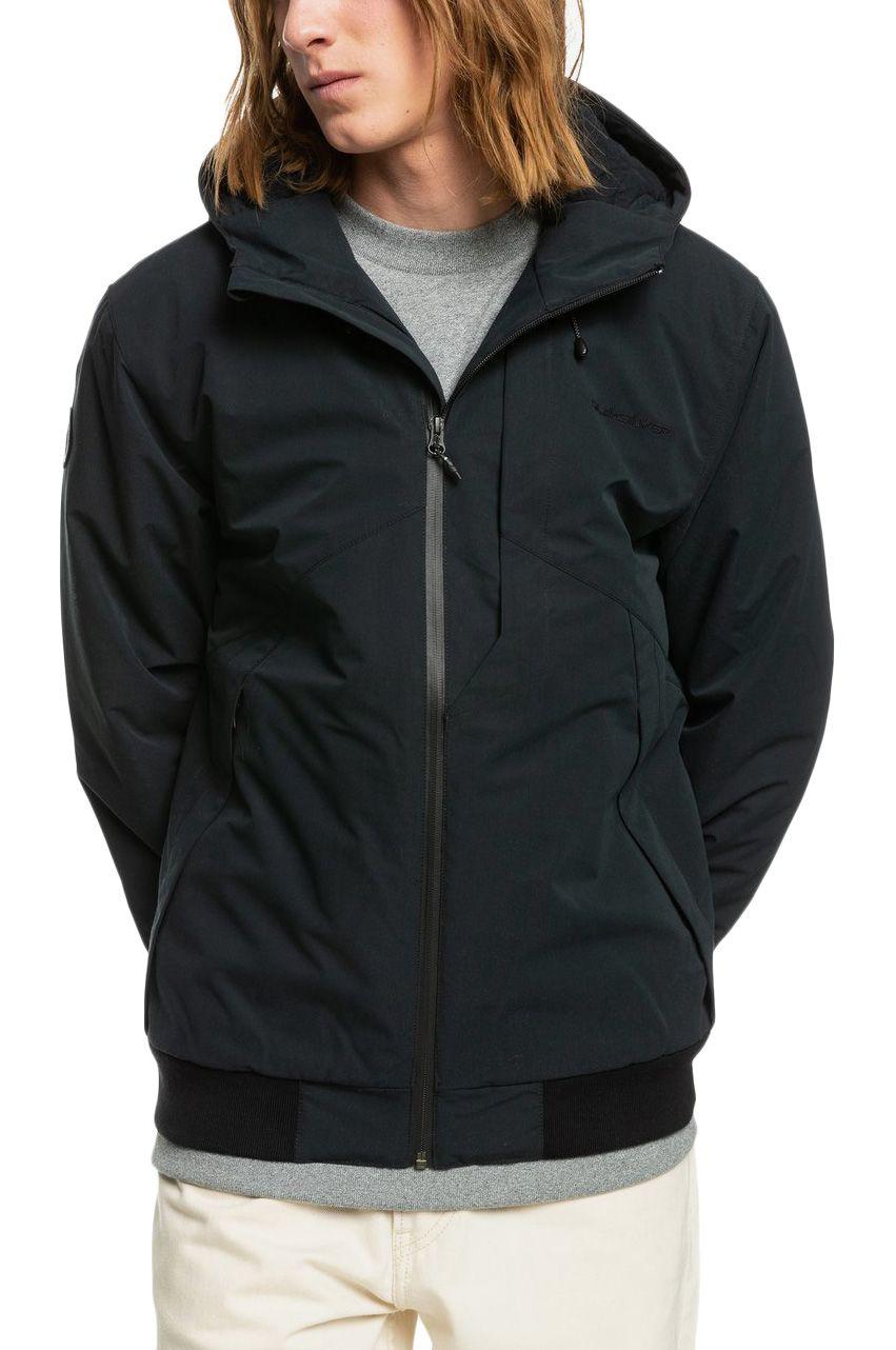 Quiksilver Jacket NEW BROOKS 5K Black