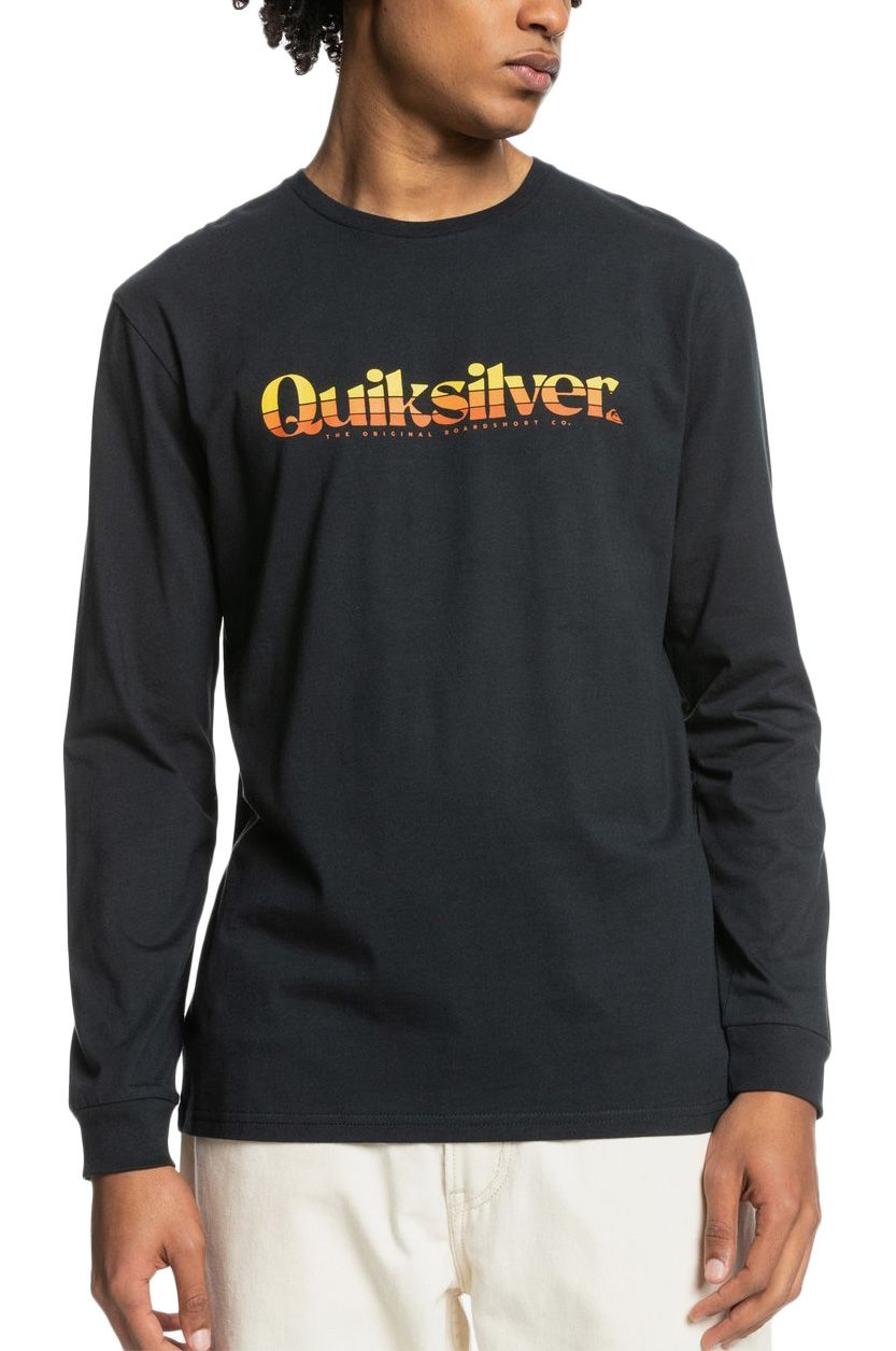 L-Sleeve Quiksilver PRIMARY COLOURS Black
