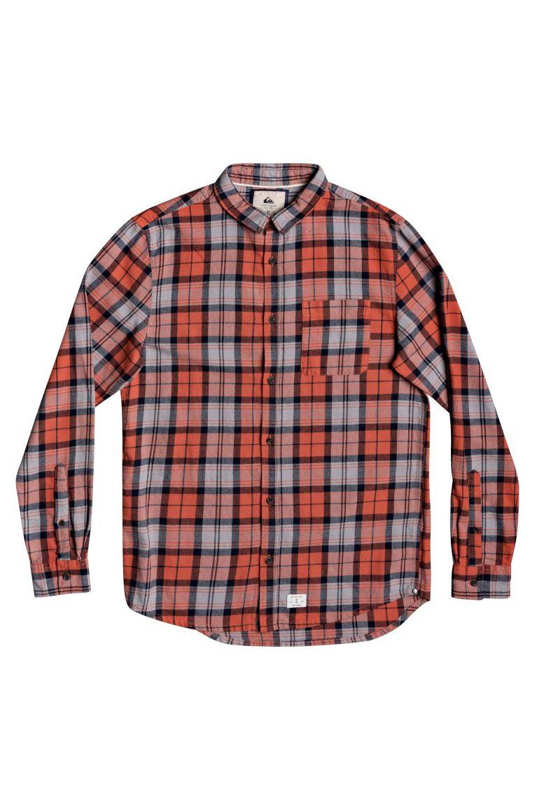 Quiksilver Shirt THE PLAID FLANNEL Chilli Plaid Flannel