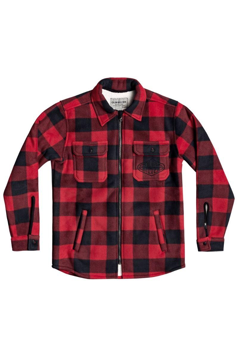 Camisa Quiksilver TOLALA Black Tolala Check