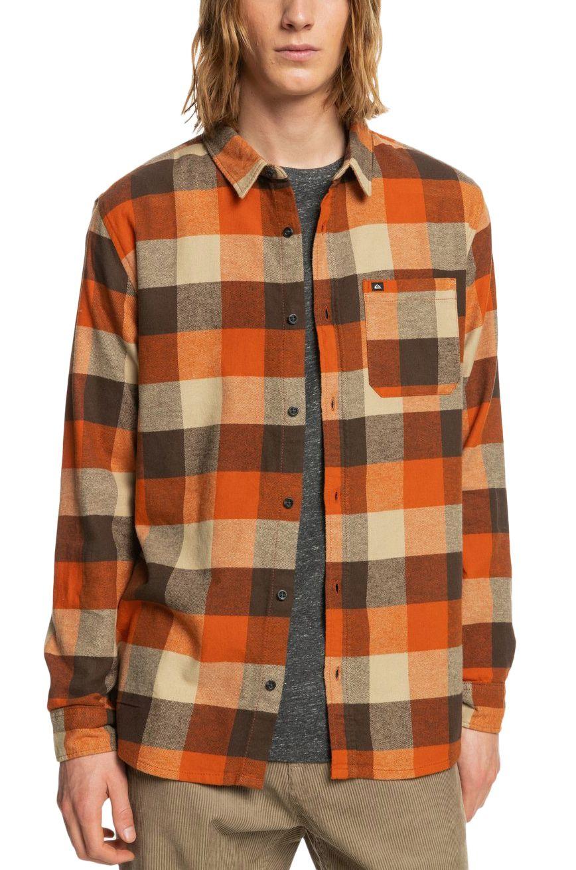 Quiksilver Shirt MOTHERFLY Cinnamon Motherfly