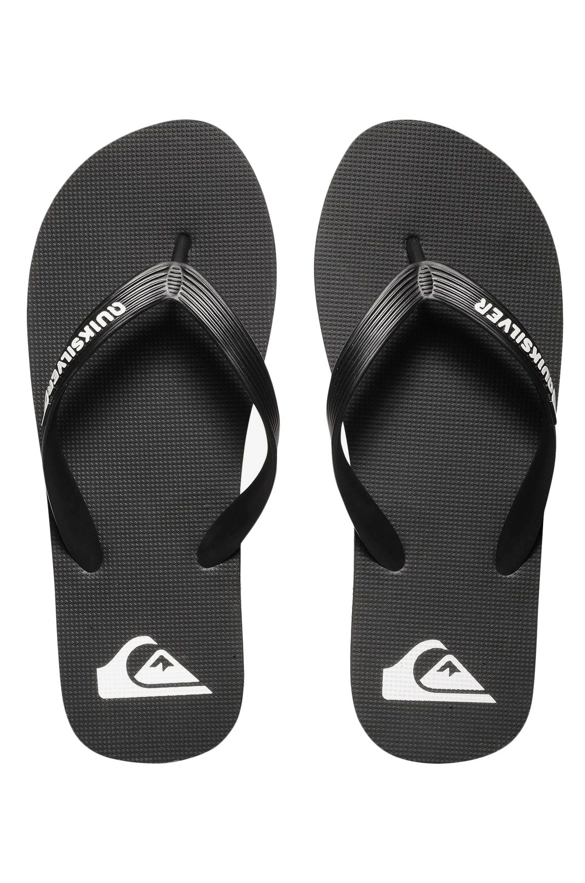 Quiksilver Sandals MOLOKAI Black/Black/White