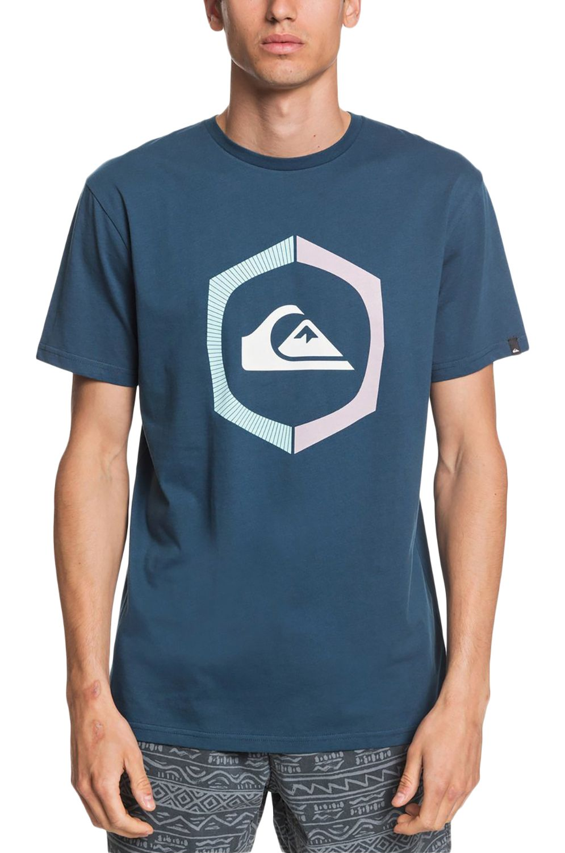 T-Shirt Quiksilver SURETHINGSS Majolica Blue