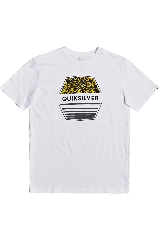 T-Shirt Quiksilver DRIFTAWAYSS White