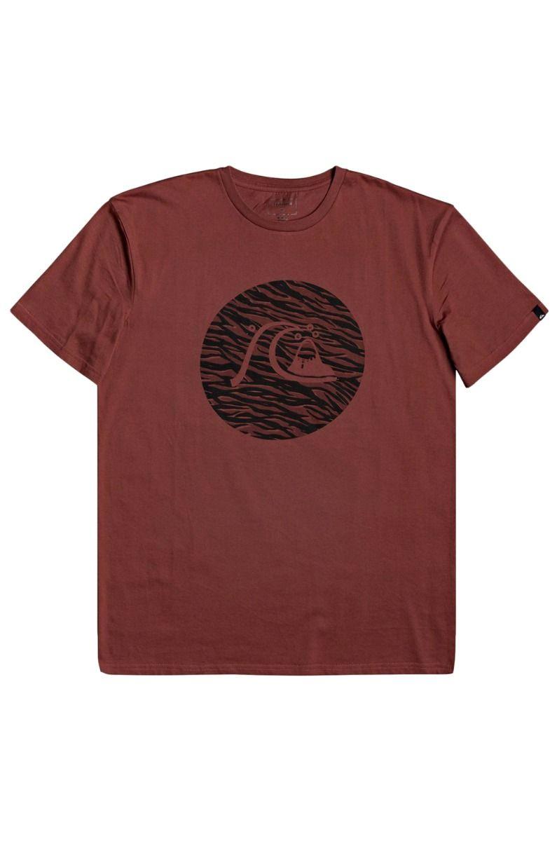T-Shirt Quiksilver JUNGLE BUBBLE Henna