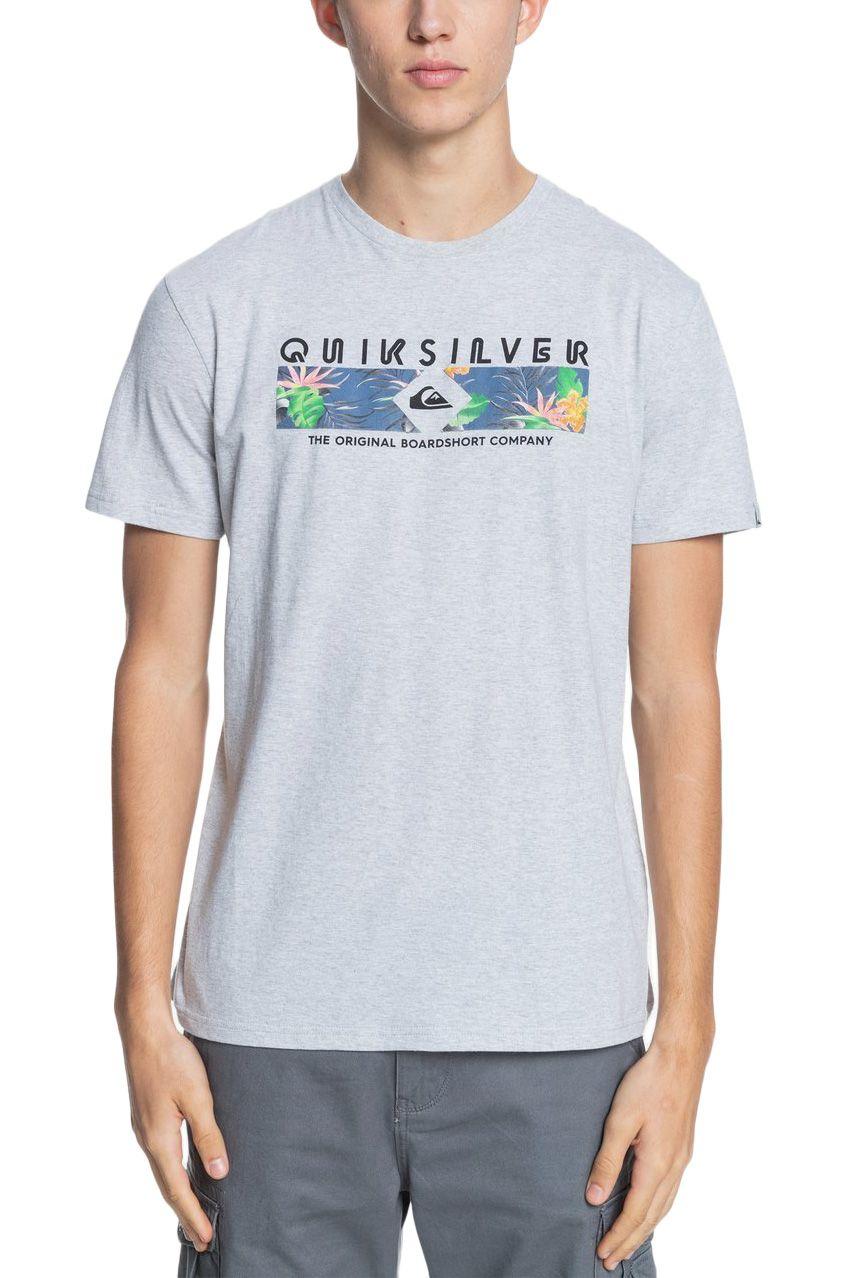 Quiksilver T-Shirt DISTANT SHORES Athletic Heather