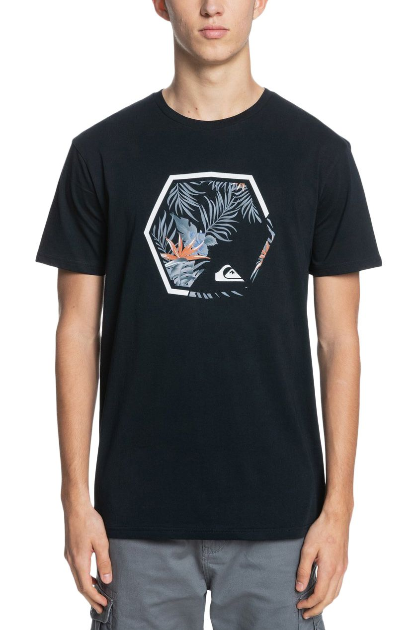 Quiksilver T-Shirt FADING OUT Black