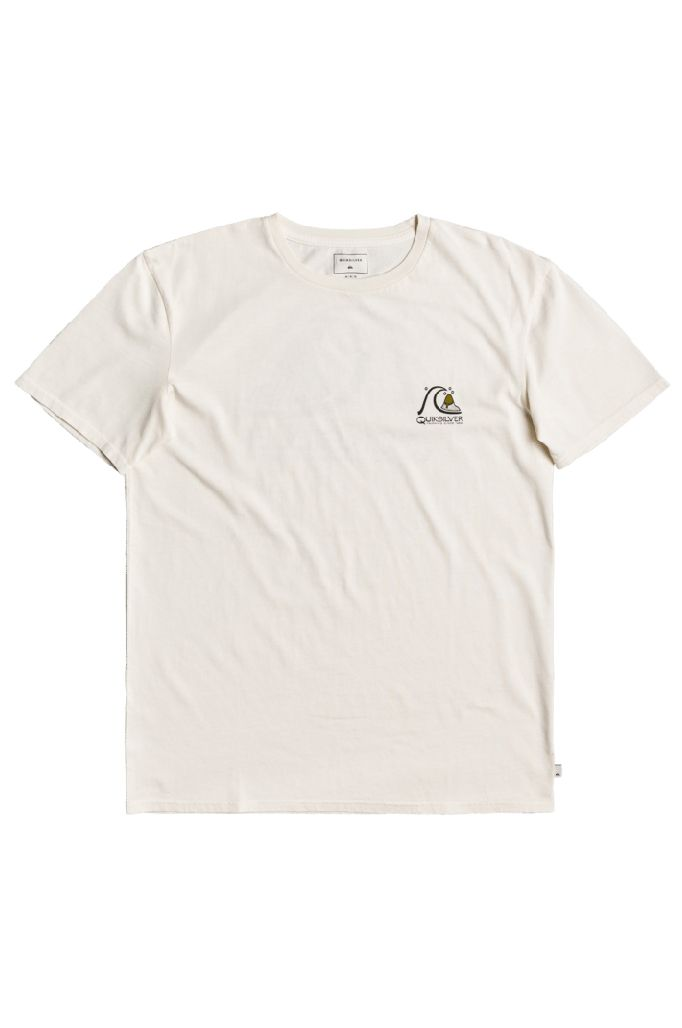 Quiksilver T-Shirt FRESH TAKE Snow White
