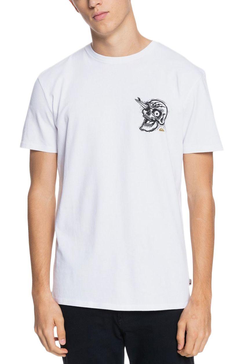 T-Shirt Quiksilver SUMMERSKULLSS M TEES White