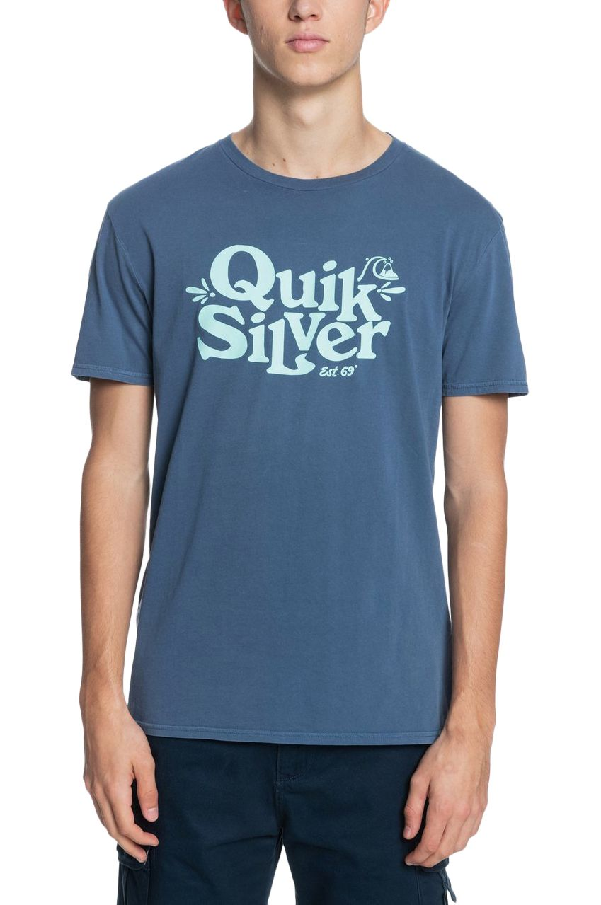 Quiksilver T-Shirt TALL HEIGHTS Sargasso Sea