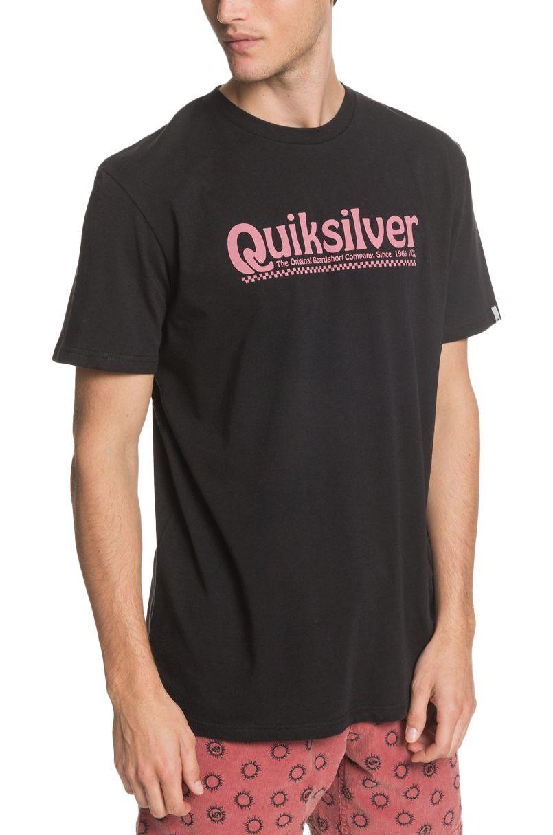 Quiksilver T-Shirt NEW SLANG SS Black