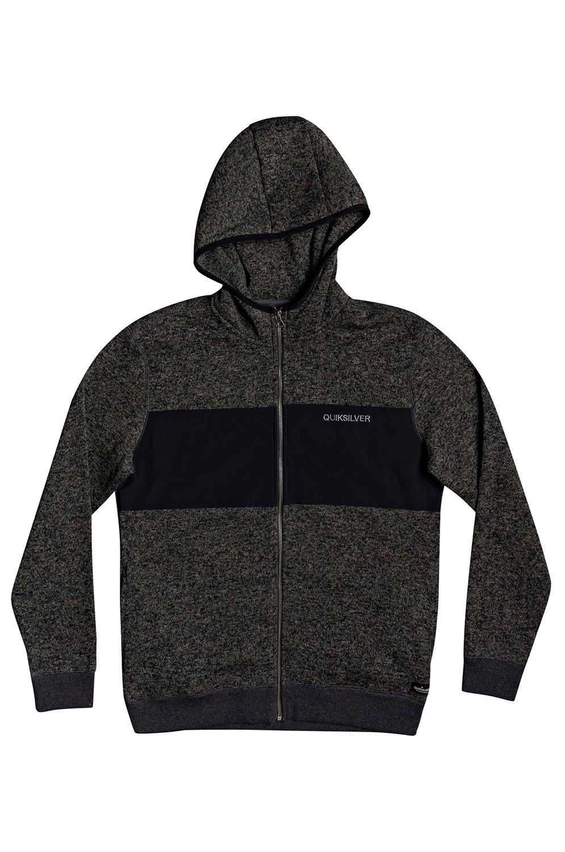 Quiksilver Sweat Sherpa KELLER Dark Grey Heather