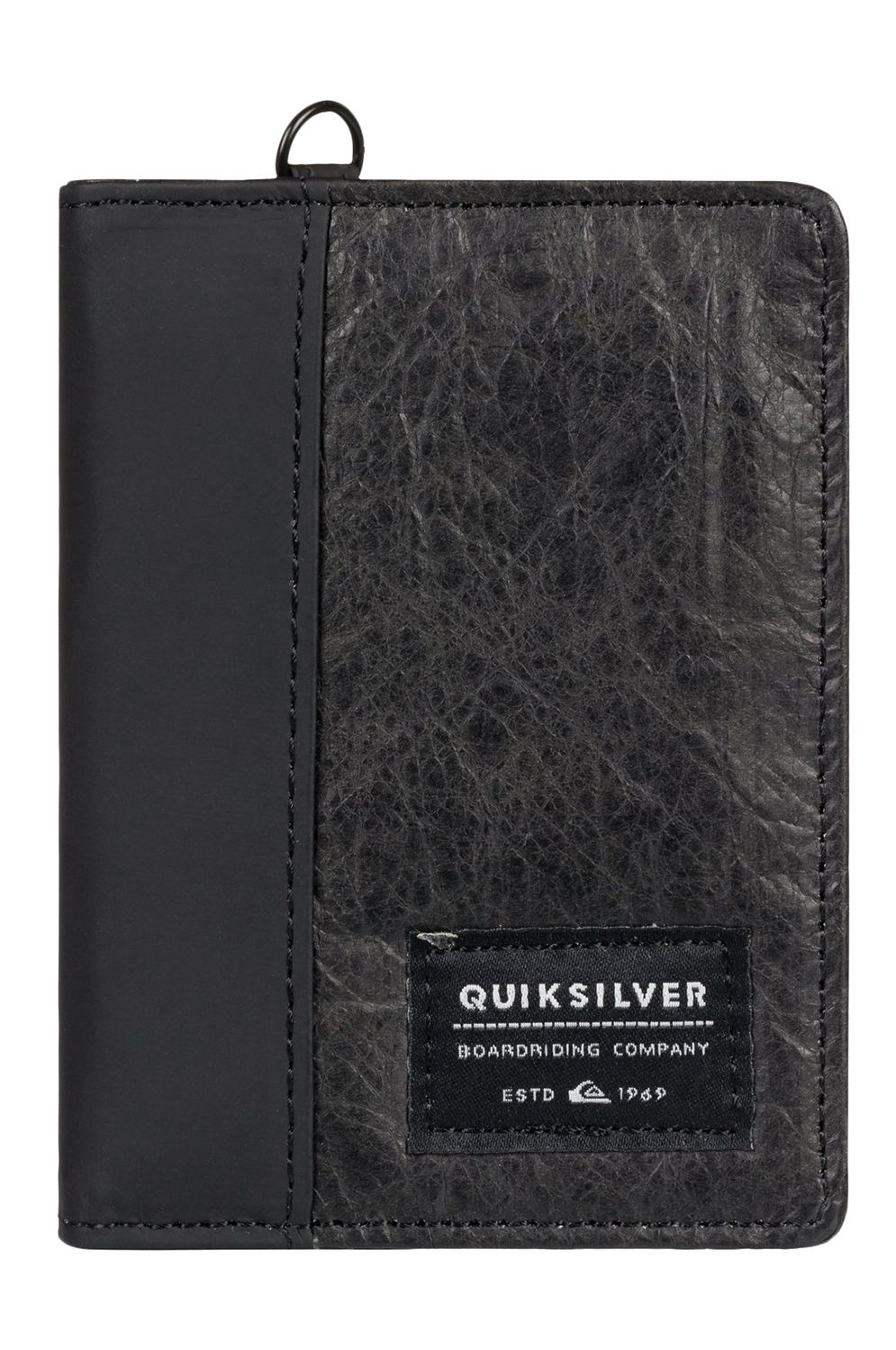 Carteira PU Quiksilver BLACKWINE/S Black