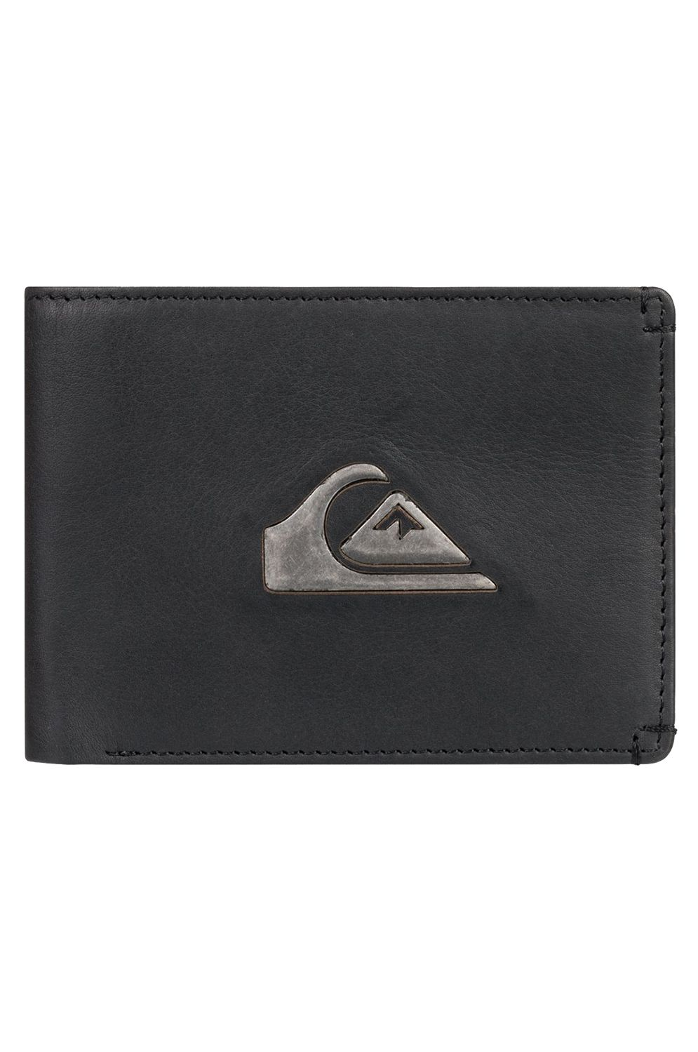 Quiksilver Leather Wallet NEW MISS DOLLAR Black