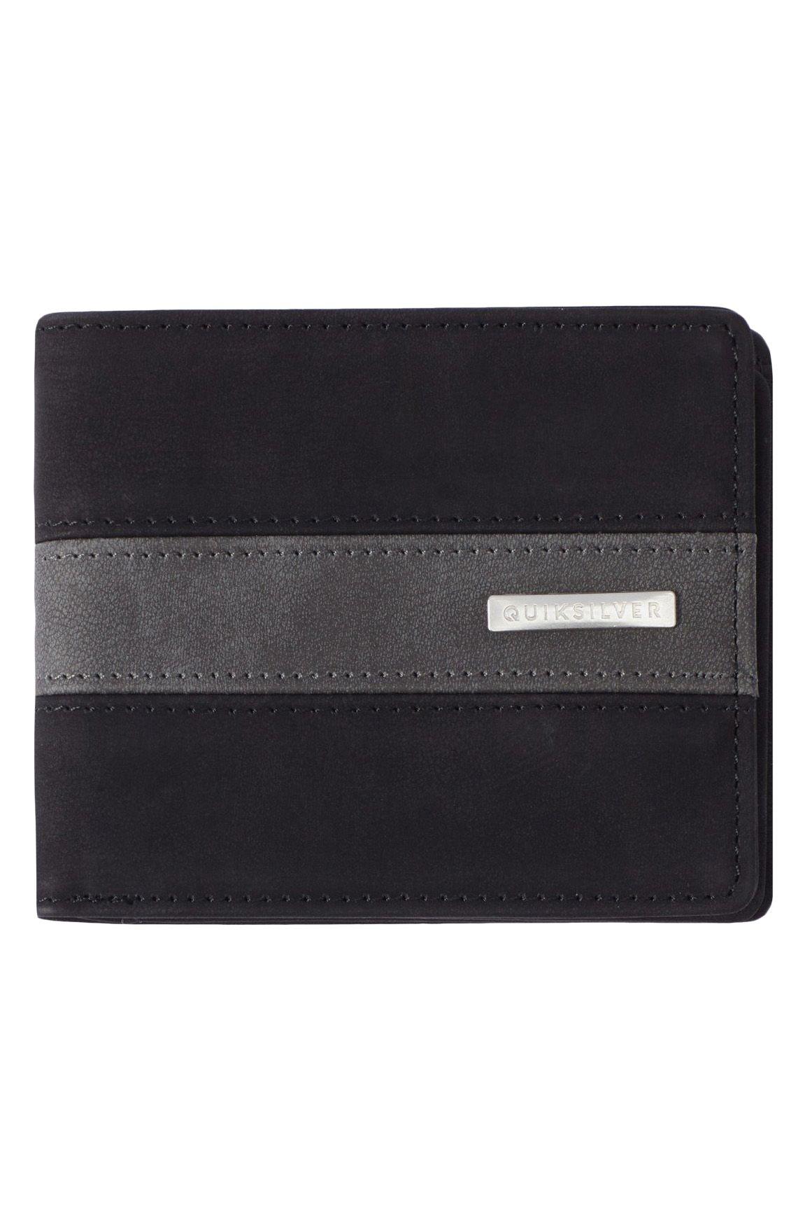 Quiksilver Wallet PU  ARCH PARCH Black