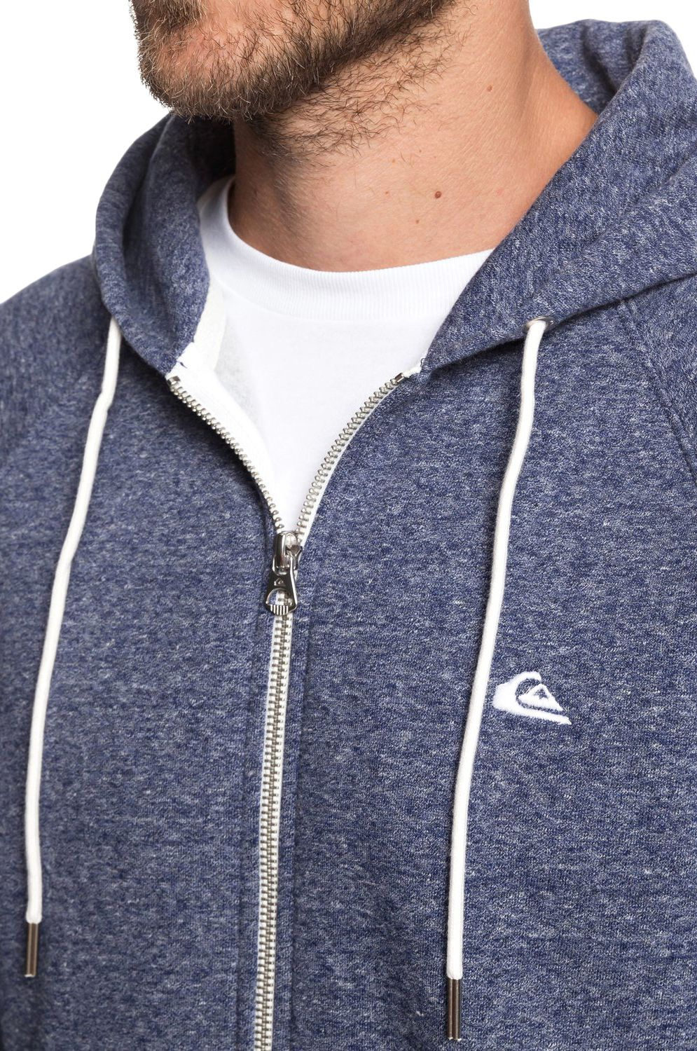 Sweat Fecho Quiksilver EVERYDAYZIP Medieval Blue Heather