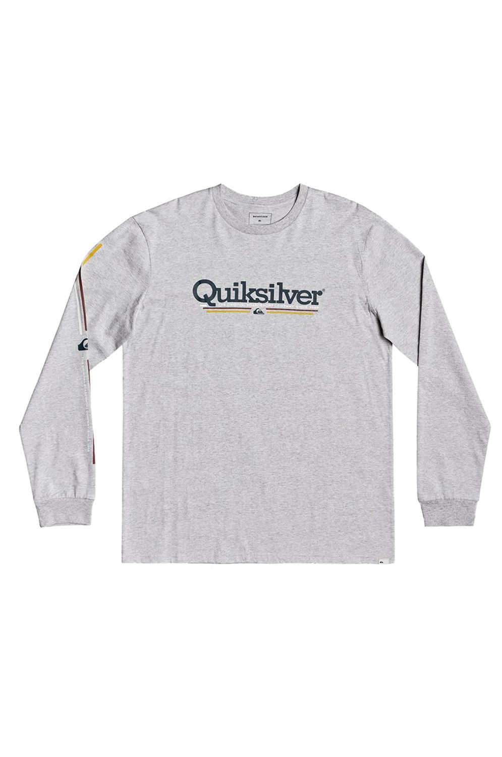 L-Sleeve Quiksilver TROPICAL LINES Athletic Heather