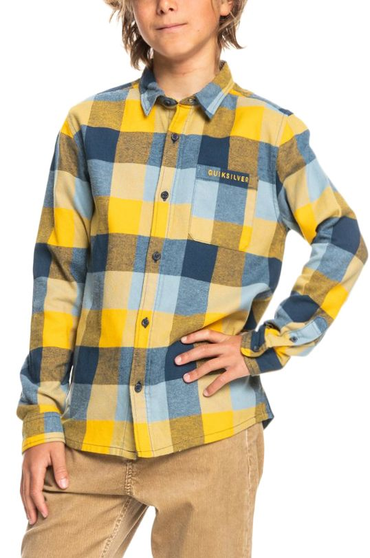 Quiksilver Shirt MOTHERFLY Golden Nugget Motherfly
