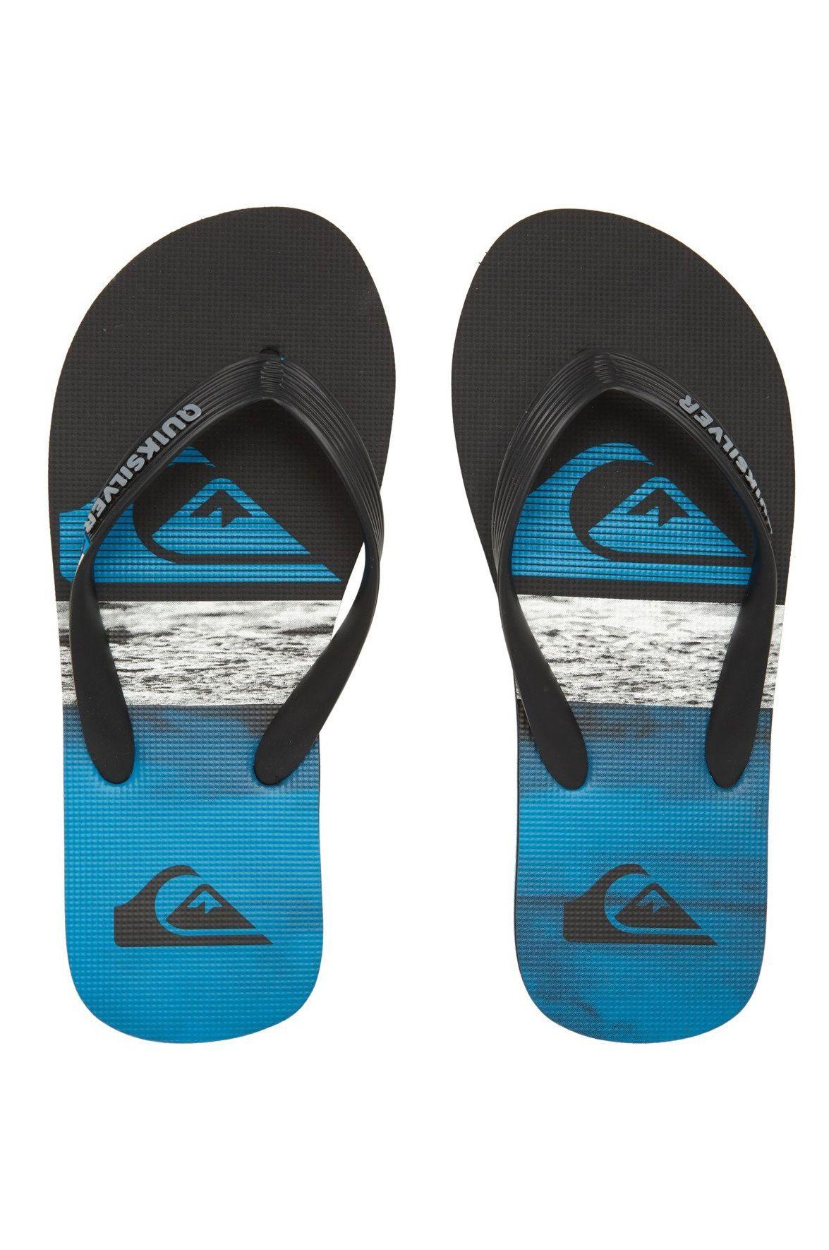 Quiksilver Sandals MOLO PANEL YTH B SNDL Black/Blue/Black