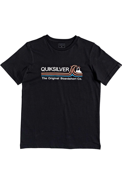 T-Shirt Quiksilver STONECOLDSSYTH B Black