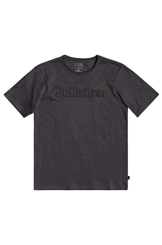 Quiksilver T-Shirt TROPICAL SLANG Charcoal Heather